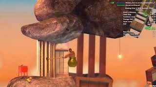 Getting Over It Speedrun in 1:56