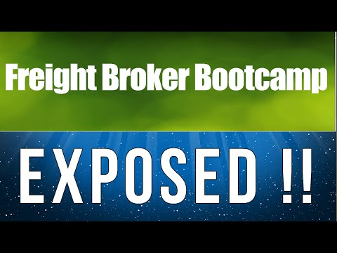 Freight Broker Boot Camp Scam - Freight Broker Boot Camp