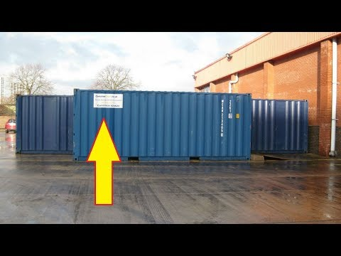 These Guys Bought A Shipping Container For $335 Then Found A Treasure TroveInside Worth Thousands