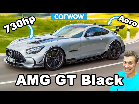 New AMG GT Black Series – the most powerful Mercedes road car ever!