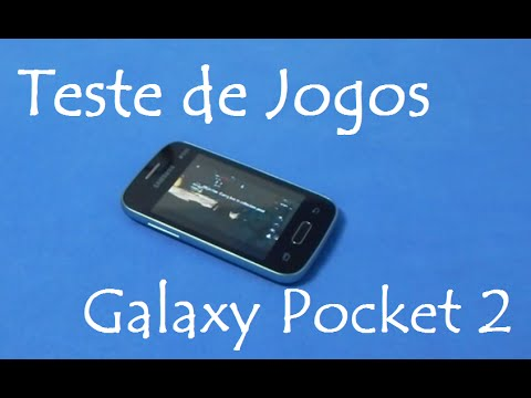 Galaxy Pocket 2 | Teste de Jogos pesados e leves