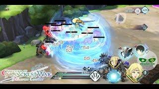 Grancrest War: QuartetConflict (Android iOS APK) - Action RPG Gameplay Ch.1-3