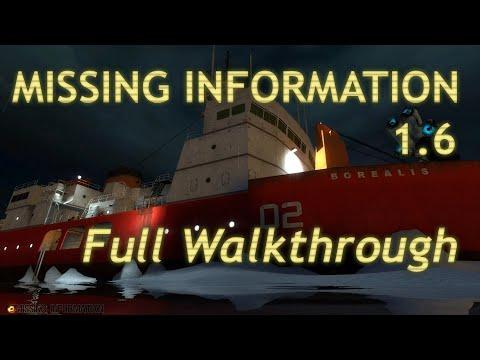 (EN) Missing Information Walkthrough and Commentaries