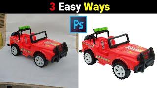 3 easy ways t๐ make background white in photoshop | Background ko white banane ke 3 aasan tarike