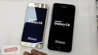 Samsung Galaxy C8 vs Galaxy C5 Speed Test