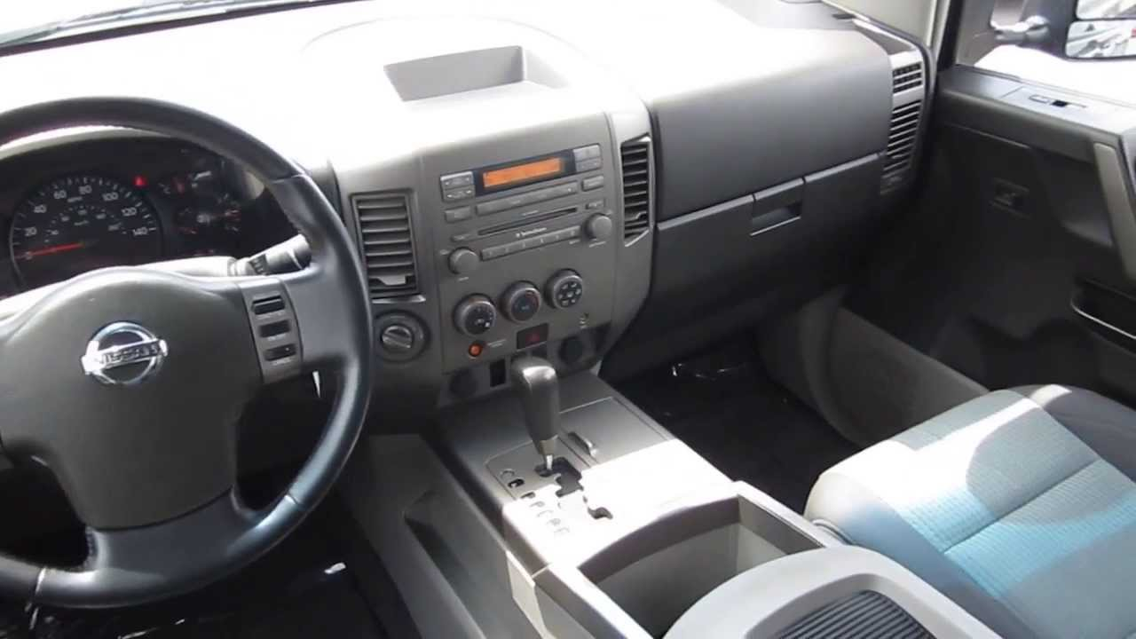 2004 nissan titan green stock b2151 interior youtube. Black Bedroom Furniture Sets. Home Design Ideas