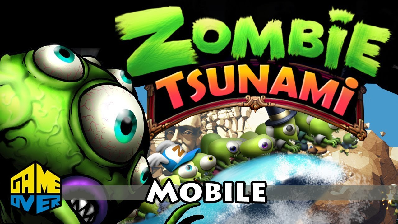 Zombie Tsunami Cool Video Game For Kids New Cartoons 2015
