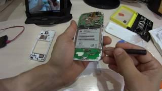 Huawei, ремонт, разборка телефона.
