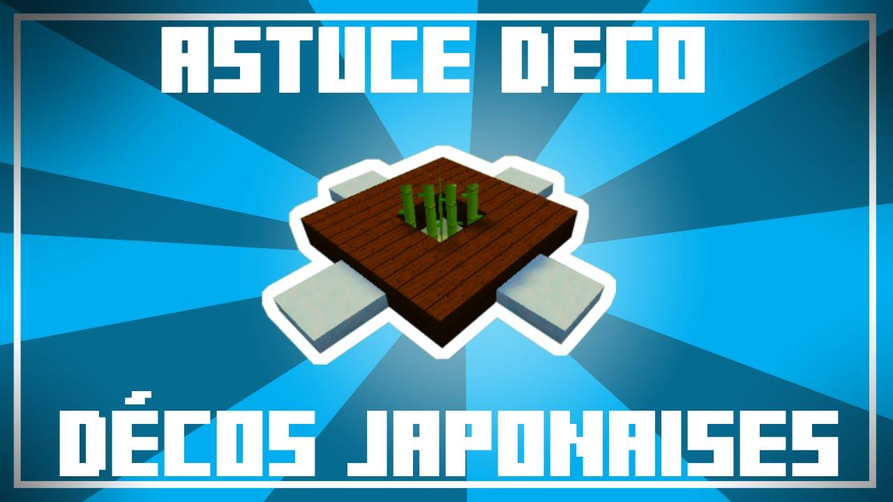 Astuce Déco , 10 Décos pour maisons JAPONAISES dans Minecraft !