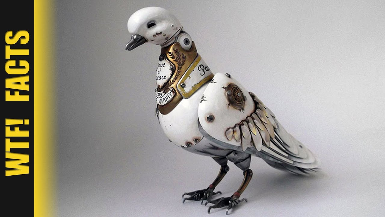 Russian Artist Creates Steampunk Animals From Old Car Parts Watches Electronics Listing 16
