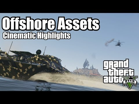 GTA 5 Cinematic - Bunker Missions - Mission 4 - Offshore Assets