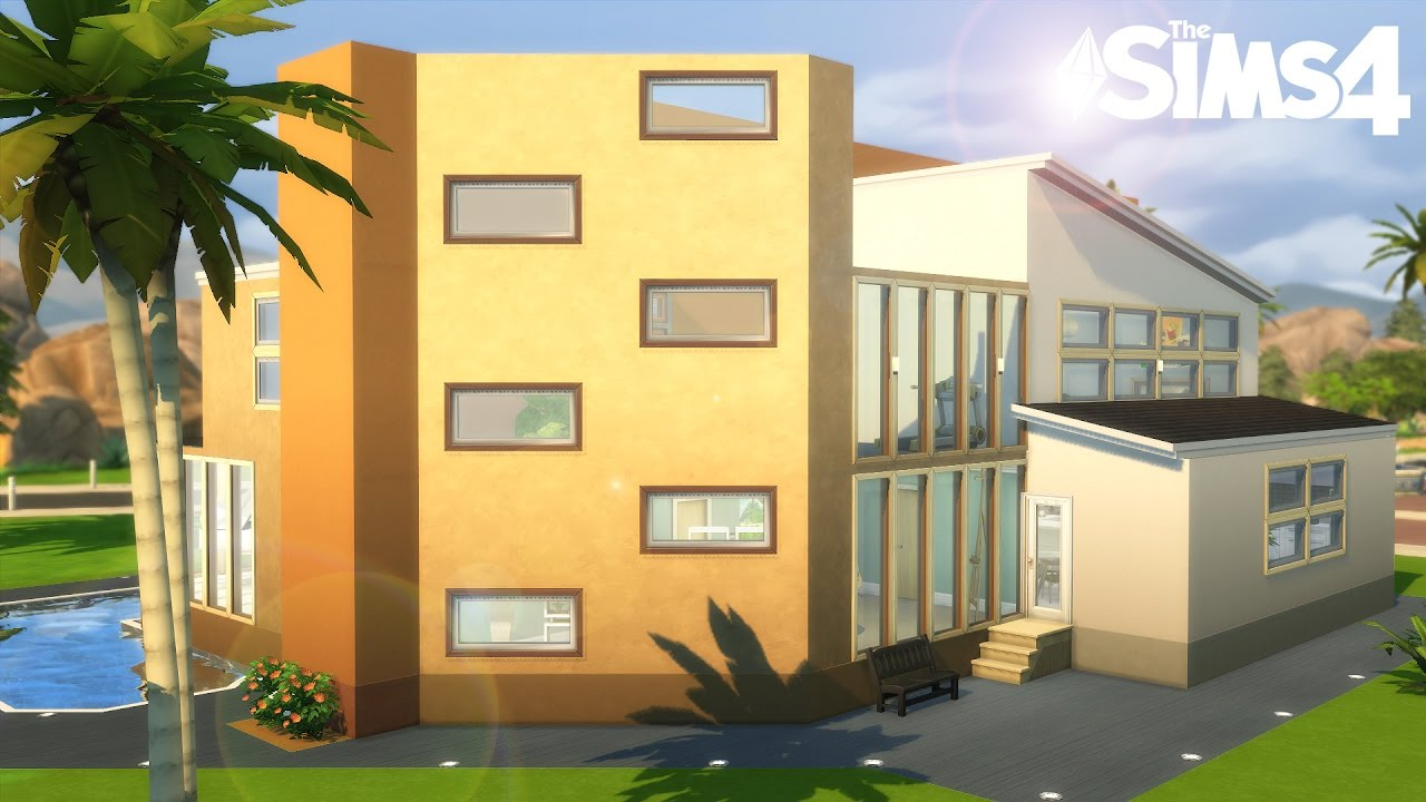 Maison de saison construction sims 4 youtube for Sims 4 maison moderne