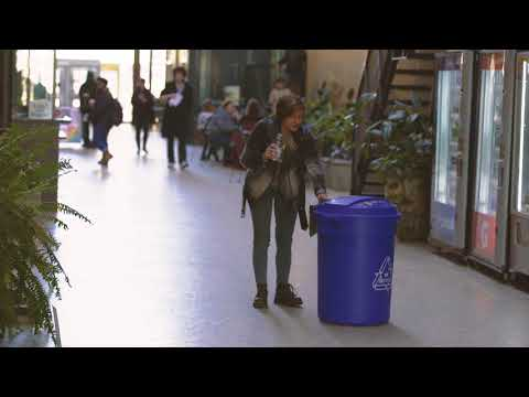 Talking Blue Bin - Hungry For Beverage Containers (Teaser 3)