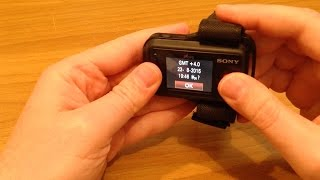Sony Action Cam Review 4k and mini (Part 6) Overview Sony Live View Remote RM-LVR2