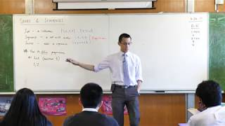 Series & Sequences Introduction (2 of 3: Ways to define a sequence)