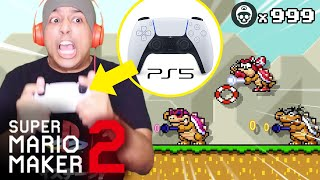 PLAYING MARIO MAKER 2 WITH A PS5 DUALSENSE CONTROLLER! [SUPER MARIO MAKER 2] [#72]