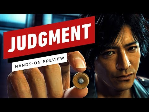 Judgment Really Is Yakuza + Ace Attorney