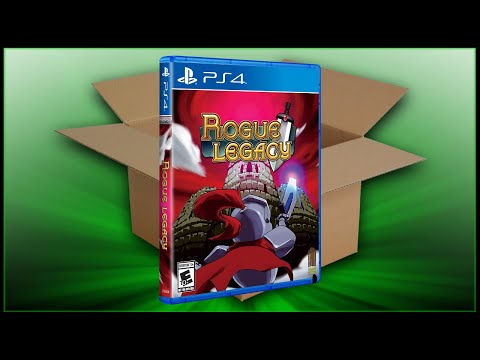 Rogue Legacy [PS4] (Unboxing/Breakdown/Demo)