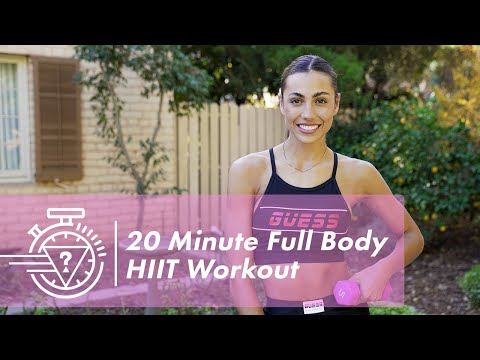 20 Minute HIIT Workout with Sami Clarke | #GUESSActive
