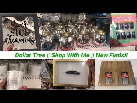 Dollar Tree || Shop With Me + Haul || New Finds