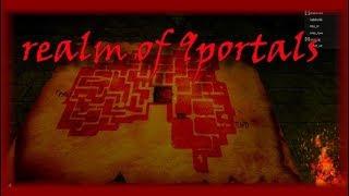DAS MOST SCARRY GAME IN ROBLOX?!   Roblox: Reich der 9 Portale