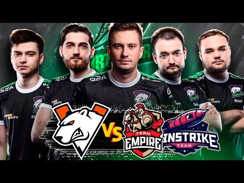 🔴НАЧАЛО ПУТИ НА МАЖОР ДЛЯ VIRTUS PRO | VP vs EMPIRE | VP vs WinStrike EPICENTER 2019