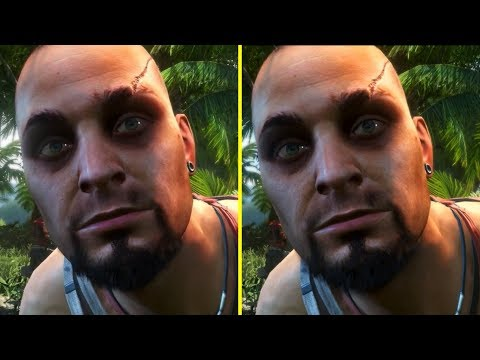 Far Cry 3 Classic Edition Ps4 Xbox One Vs Pc Original Early Graphics Comparison Youtube