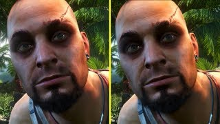 Far Cry 3 Classic Edition PS4 / Xbox One vs PC Original Early Graphics Comparison