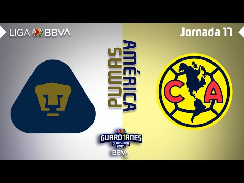 U.N.A.M. Pumas Club America Goals And Highlights