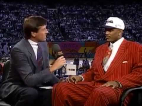 Jalen Rose - 1994 NBA Draft