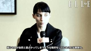 Rooney Mara (The Girl With The Dragon Tattoo)s interview in Japan 2012