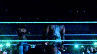 WWE Live London. Kofi Kingston & Big E Vs Luke Harper & Eric Rowan