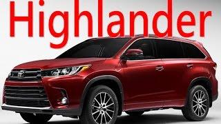 Toyota Highlander 7人座 SUV 丰田