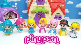 PINYPON PRINCIPESSE, italiano, giochi per bambine, 7 principesse da intercambiare tra loro!