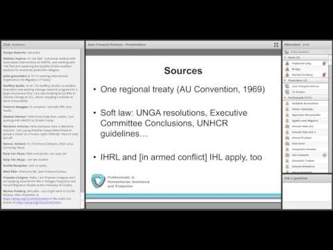 OLS HLP 19. Legal protection of refugees