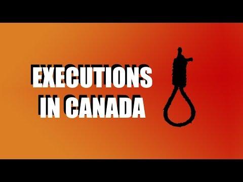 Canadian Hanging & Capital Punishment History