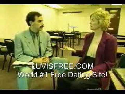 borat dating interview how to make a guy want more than a hookup