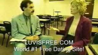 Borat - Dating Advice and Tips!