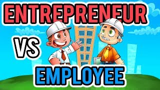 Entrepreneur vs Employee - How Do Their Mindsets Compare? - Career Choice Comparison