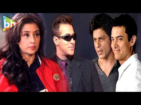 Manisha Koirala | Full Interview | Aamir Khan | Salman Khan | ShahRukh Khan