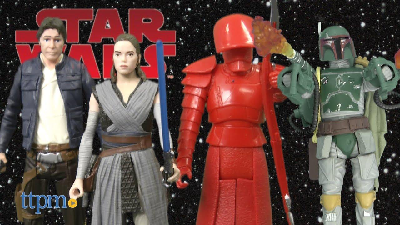 Star Wars Force Link Action Figure 2-Pack Rey /& Elite Praetorian Guard