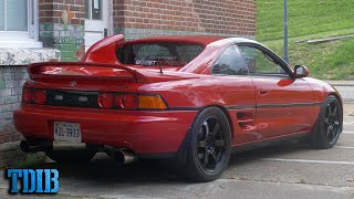homepage tile video photo for A 707HP Toyota MR2 is a Hellcat's Worst Nightmare