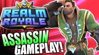 Paladins Realm Royale First Impressions!! (Assassin Gameplay)   Hi Rez Paladins Battle Royale!