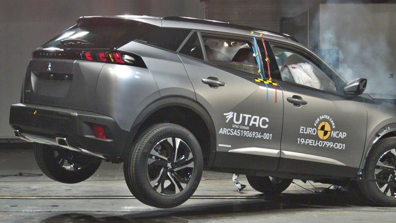 2020 Peugeot 2008 - CRASH TEST
