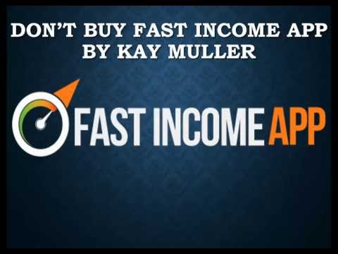 DON'T BUY Fast Income App by Kay Muller - Fast Income App REVIEW Binary Options