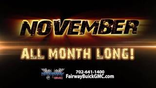 Fairway Buick GMC Black Friday Month