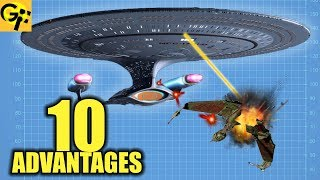 10 Advantages FEDERATION STARFLEET (Star Trek)