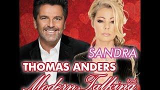 Koncert Sandry i Tomasa Andersa z ModernTalking 13-02-2015 w Katowickim Spodku