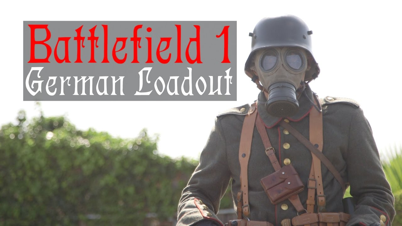 Battlefield 1 German Airsoft Cosplay Loadout Ww1 Airsoft Kit