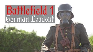 Battlefield 1 German Airsoft Cosplay Loadout | WW1 Airsoft Kit! | AIRSOFTGI.COM